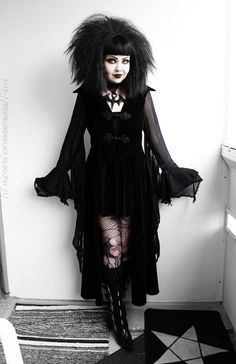 Dressed To Frill Alternative Outfits, Alternative Fashion, Alternative Girls, Dark Fashion, Gothic Fashion, Goth Look, Goth Style, Gothic People, Divas