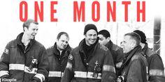 One month until #ChicagoFire season 3!!!