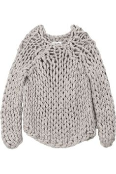 Chunky knit by MM6: