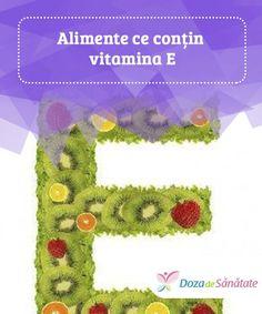 Lebensmittel, die Vitamin E enthalten - Dietă - Dieta Vitamin E, Mai, Loosing Weight, Daily Vitamins, Salads, Foods