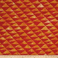 Artisan by Kaffe Fasset Batik Flags Orange