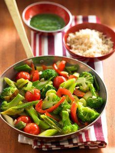 Frische Gemüsepfanne http://www.knorr.de