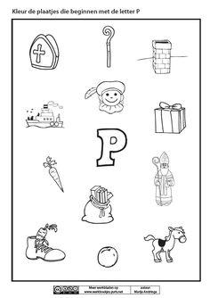 Afbeeldingsresultaat voor werkblad letter p