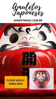 Daruma são bonecos de papel machê ou madeira criados para se parecerem com o monge fundador do Zen Budismo na China, conhecido como Bodhidharma. O Daruma é tradicionalmente vendido sem a pintura dos olhos. Pois a tradição é a pessoa fazer um desejo e pintar apenas um dos olhos, quando esse desejo se realizar, poderá pintar o outro lado. Fukushima, Maneki Neko, Koi, Sweet Magic, O Pokemon, China, Movie Posters, Traditional Toys, Handmade Dolls