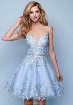 Shop Landa Dress for your Homecoming Fall 2018 Blue Homecoming Dresses, Cheap Prom Dresses, Prom Party Dresses, Sexy Dresses, Evening Dresses, Short Dresses, Fashion Dresses, Pretty Outfits, Pretty Dresses