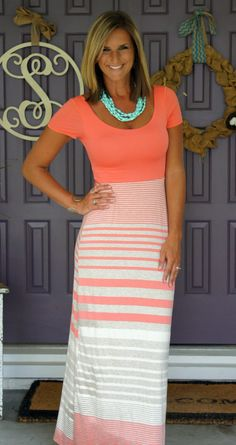 Gilli - Shayne Maxi Dress: LOVE everything about this dress, but especially the back!!