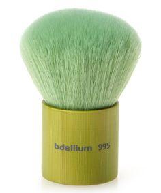 Love this Bdellium Tools Green Bambu Kabuki Brush by Bdellium Tools on #zulily! #zulilyfinds