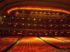 Radio City Music Hall New York from stage What Dreams May Come, Radio City Music Hall, Nostalgia, Art Deco, Cinema, Grandparents, World, Theater, Stage