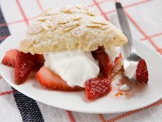 A Lighter Spin on Strawberry Shortcake