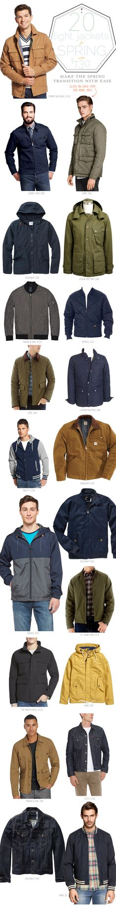 20 Light Jackets for Spring Under $130 - Primer