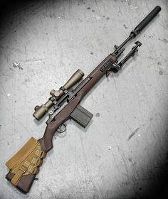 6,778 отметок «Нравится», 22 комментариев — METALHEAD Photography (@metalhead_1) в Instagram: «Suppressed CrazyHorse  M14SE CrazyHorse Semiautomatic Sniper System, with@leupoldoptics MK4…»