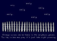 doodle by andre: in the still of the night - A Way to Garden