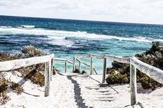 White sands of Rottnest Island, Bryon Bay #australia #byron #travel #ocean