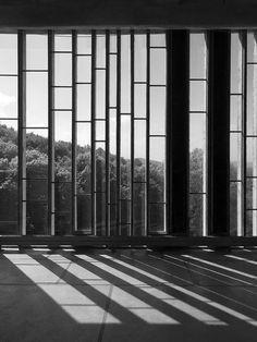 1953-1960   Le Corbusier & Iannis Xenakis Dominican Monastery at Sainte Marie de la Tourette, Éveux (near Lyon), Rhône-Alpes, France