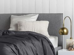 Sateen Duvet Covers will keep you cozy and your comforter clean. Make it a set by adding two decorative Shams.