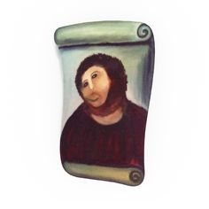 Ships worldwide. FREE shipping in the USA.Now a major tourist attraction, the Ecce Homo (Behold the Man) is a fresco painting of Jesus housed at the Sanctuary of Mercy in Borja, Spain. It earne...