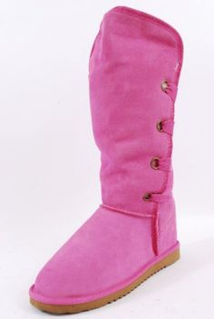Ukala 0313MSU2784 Pink Casual Boots Women Shoes « ShoeAdd.com – More Shoes For You Every Day