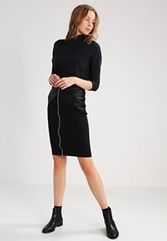 Lipsy Falda de tubo - black - Zalando.es