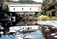 Milo Covered Bridge, Oregon