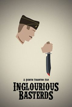 Inglourious Basterds (2009) - Minimal Movie Poster by Jordan A