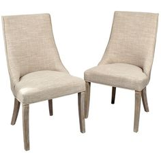 mia wright side dining chairs set of 2 255 liked on polyvore