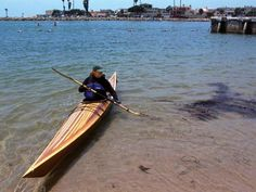 Shearwater 16 Hybrid Sea Kayak: Beautiful Cedar Strip Deck a West Greenland-style Hull!