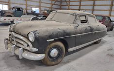 This Hudson was in heated storage for 30 years and the seller is asking $10,900. Have any of you owned one? #Hudson