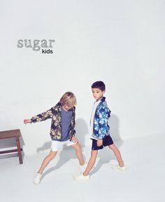 Marti y Samuel de Sugar Kids para Mango