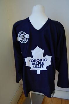 cool ice hockey jersey Maple Leafs Hockey, Ice Hockey Jersey, Toronto Maple Leafs, Nhl, Sweatshirts, Products, Sweater, Blouse
