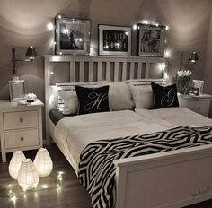 Blue bedroom decor pertaining to motivate black and white bedroom ideas white and silver bedroom ideas . Dream Rooms, Dream Bedroom, Home Bedroom, Modern Bedroom, Master Bedroom, Bedroom Decor, Teen Bedroom, Bedroom Themes, Bedroom Storage