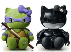 Hello Donatello and Hello Dark Knight.  There's more, just click on it!