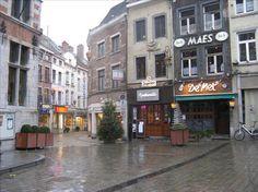 halle belgium europe - rain