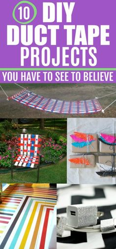 DIY duct tape projects | duct tape crafts | DIY duct tape gifts | what can you make out of duct tape | #ducttape #DIY