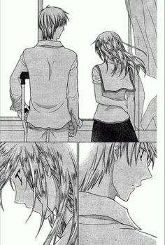Kureno and Arisa. Oh man, they had such a bad time, but they ended up happily ever after. :)