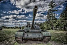 Soviet T-55 Tank