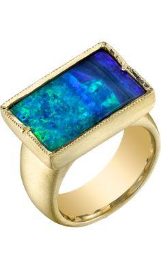 Irene Neuwirth  Boulder Opal Ring