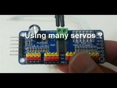In this video we are going to see the which is a 16 channel 12 bit pwm driver to drive servos or leds . it is : this means that you can control i. Model Trains, Arduino, Simple, Youtube, Model Building, Youtubers, Youtube Movies
