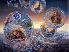 """""""In Search of Morpheus 1"""" par Josephine Wall"""