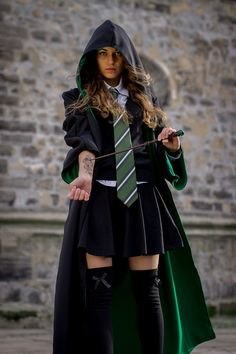 elieth Slytherin student Cosplay Photo - Cure WorldCosplay