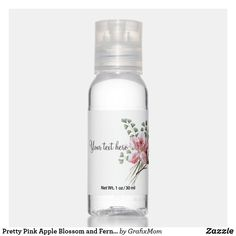 Blossom Perfume, Scented Hand Sanitizer, Travel Size Bottles, Pink Apple, Hand Hygiene, Ferns, Travel Size Products, Pretty In Pink, Pink Flowers