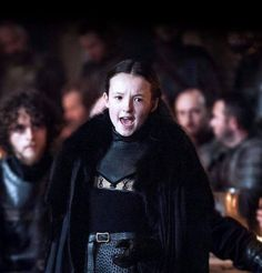 Lady Lyanna Mormont of Bear Island - Game of Trones Game Of Thrones Episodes, Game Of Thrones Series, Game Of Thrones Tv, Khal Drogo, Winter Is Here, Winter Is Coming, Lady Lyanna Mormont, Larp, Jon Snow