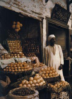 Egypt. Egyptian Merchant