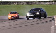 Porsche GT3 RS 4.0 v BMW M3 GTS v Mercedes C63 AMG Black Series - /CHRIS...
