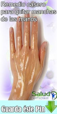 Este es un problema que suele aparecer con la edad. Aprende a hacer este remedio casero para quitar manchas de las manos. Mascarillas Peel Off, Body Wraps, Natural Medicine, Aloe Vera, Manicure, Remedies, Health, Tips, Belleza Natural