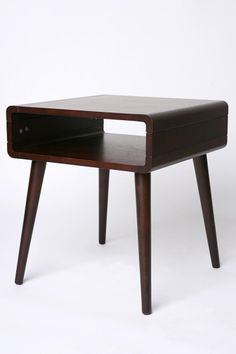 Danish Modern Side Table (urban outfitters) I'd like to make this myself for a fraction of the cost.