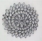 Image result for toilet paper roll wall art