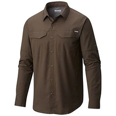 Columbia Mens Silver Ridge Lite Long Sleeve Shirt Medium Alpine Tundra * Continue to the product at the image link. (This is an affiliate link)