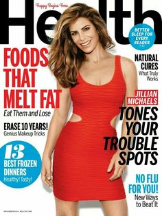 Health, November 2014 from Jillian Michaels' Hottest Covers Jillian looks beautiful on the cover of November Health. Jillian Michaels, Healthy Meals For Two, Healthy Snacks For Kids, Health Breakfast, Breakfast For Kids, Health Snacks, Health Diet, Magazin Covers, Health Lessons
