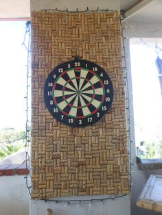 My Cork Dart Board