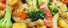 Cheesy Chickpea Stir-Fry